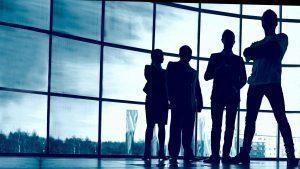 silhouette persone in ombra