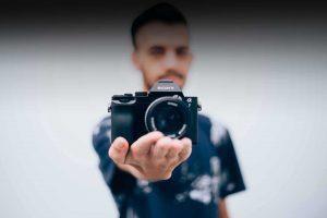 Macchina Sony vintage per il Tour Photo Specialist