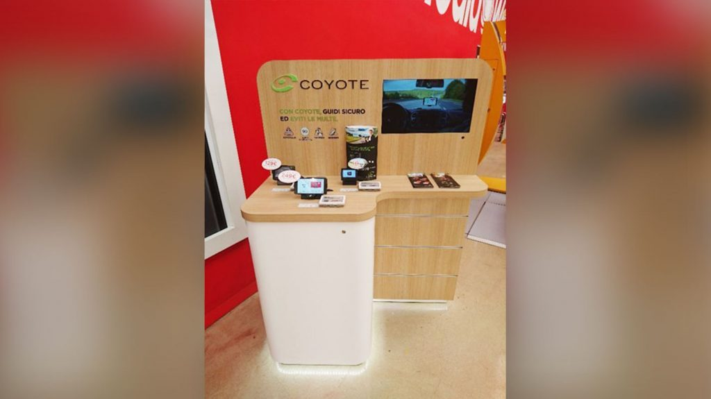 Coyote Display Materials