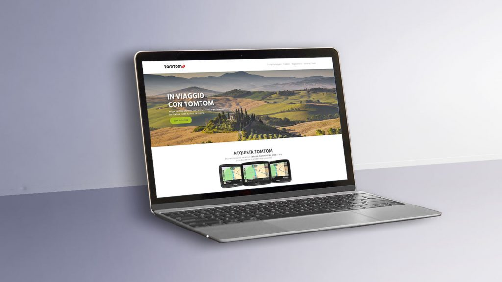 TomTom Digital promotion